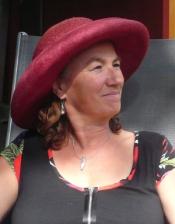 Sabine Hübner im Gutshof-Café