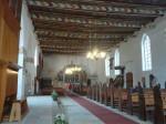 Eindrucksvolle Decke in Wismarer Kirche